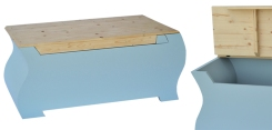 Cassapanca | Realizzata in legno di abete e Multiflex.