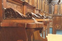 """Pinacoteca """"Tacchi Venturi"""" di San Severino Marche. Restauro dello Stallo dei Magistrati."""