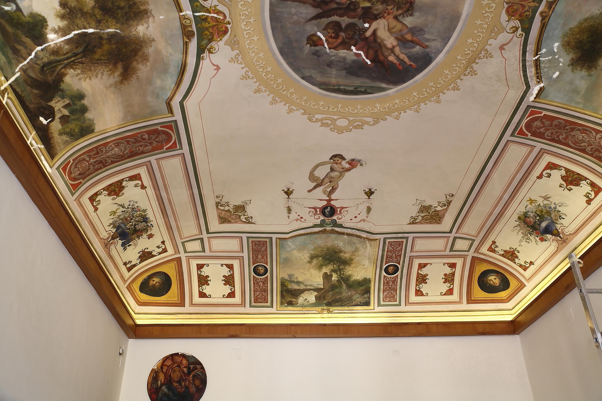 Toccare il cielo con una wishab mastro t e i soffitti decorati